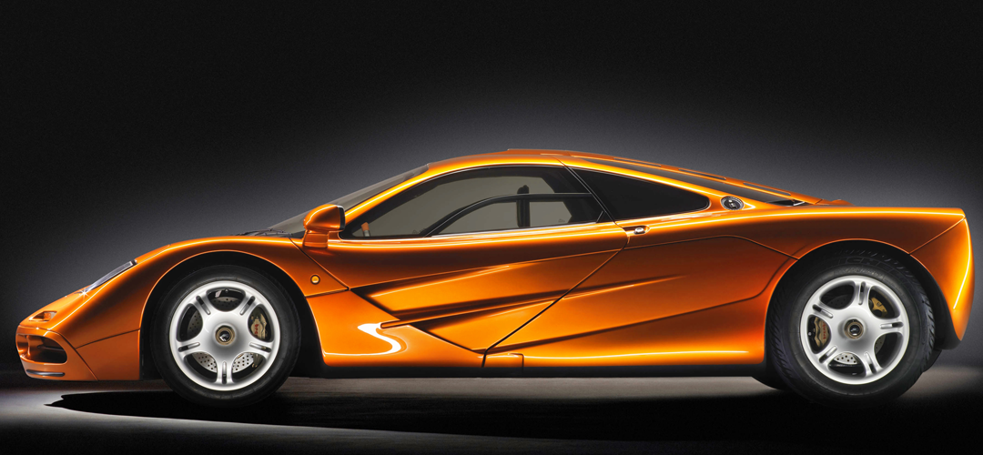 Perfil McLaren F1, Foto: McLaren Automotive Limited.