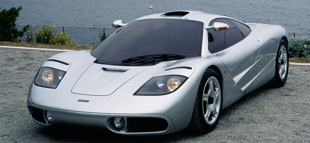 Tres cuartos superior, McLaren F1, Foto: McLaren Automotive Limited.