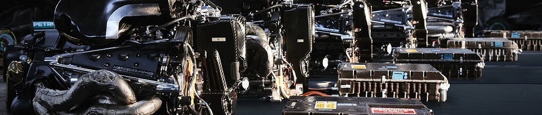 motores mercedes en formula 1