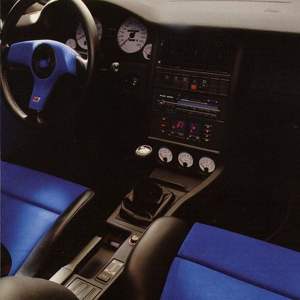 Interior Audi RS2, Foto de Catalogo