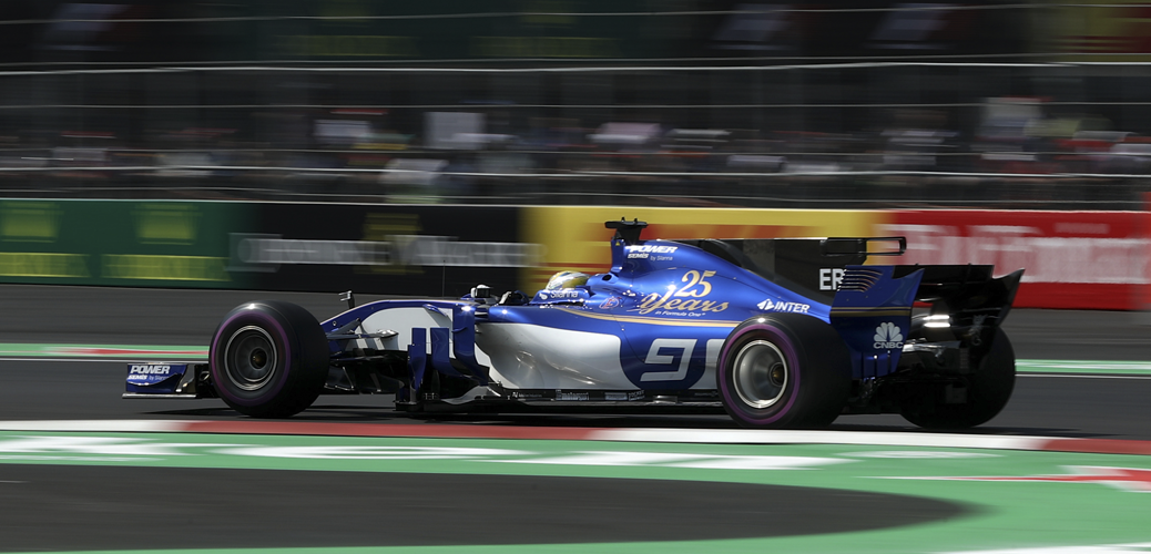 Sauber-Ferrari C36, Ericsson en el Gran Premio de México, Foto: Sauber