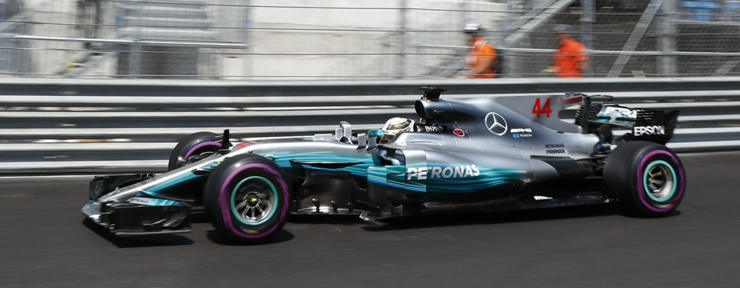 Mercedes F1 W08 EQ Power+, Clasificación del gran Premio de Mónaco, Foto: Wolfgang Wilhelm (Mercedes GP)