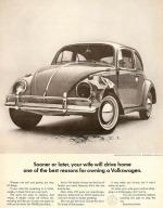 Publicidad Volkswagen de época