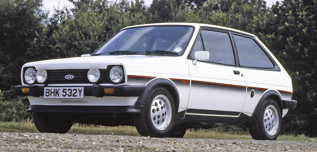 Ford Fiesta XR2, 1981, Foto: Ford