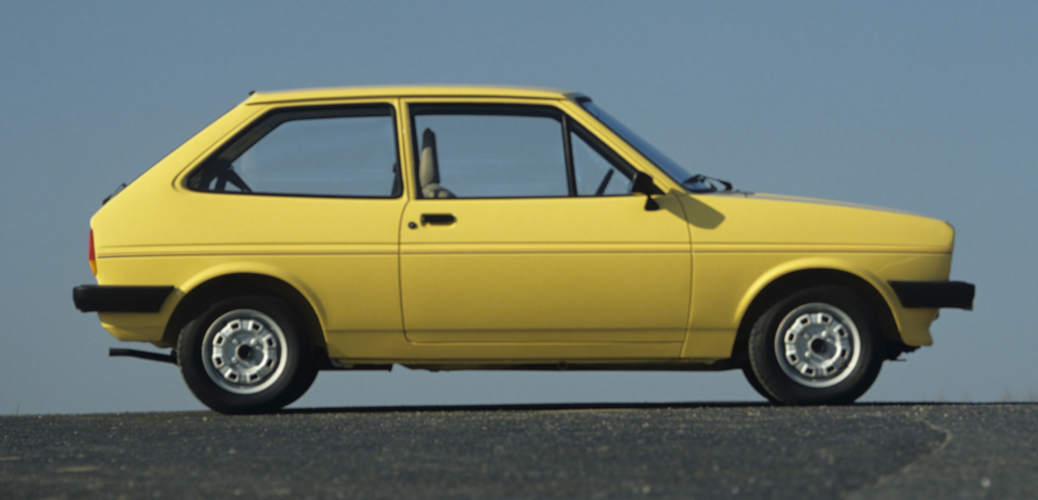 Lateral Ford Fiesta Mk1, Foto: Ford