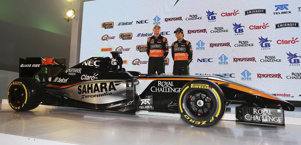 Presentación del equipo, Foto: Force India