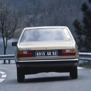 Renault 18 GTS, vista trasera Foto: Renault