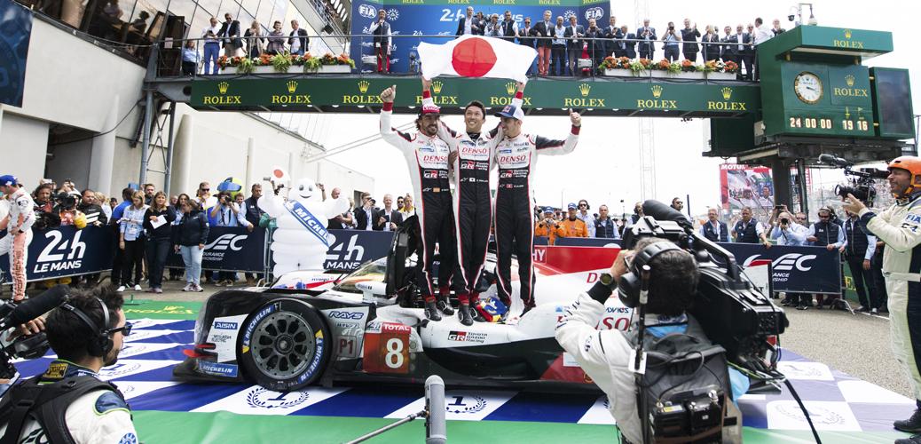 Toyota TS050 - Hybrid 2018, 24 Horas de Le Mans. Foto: Toyota Gazoo Racing