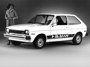 Ford Fiesta Mk1 para Estados Unidos, Foto: Ford