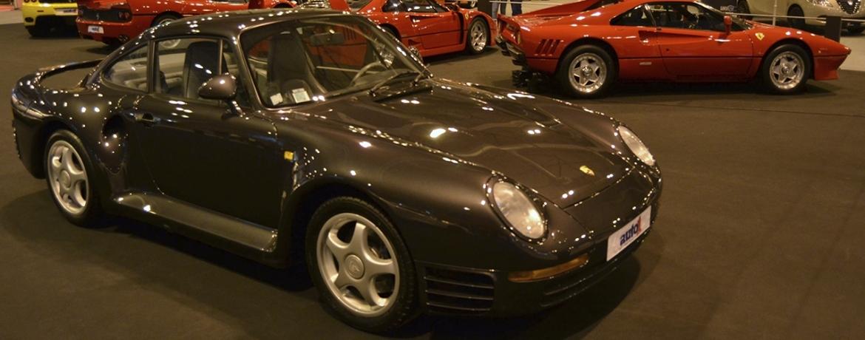 Porsche 959. Foto: Aaron Castellano - Madrid Motor Days, Diciembre de 2013