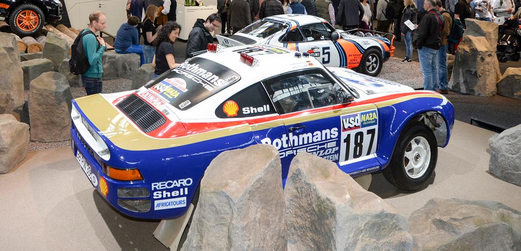 959 Rally, París Dakar, Retro Classics Stuttgart 2017, Foto: Porsche AG