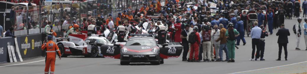 Salida 24 Horas de Le Mans 2018, Foto: Toyota Gazoo Racing