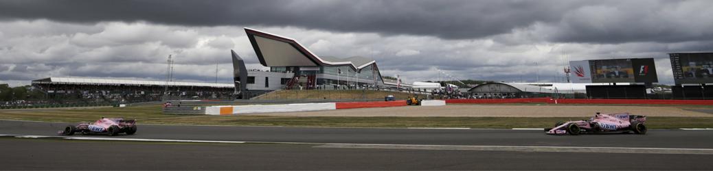 Circuito de Silverstone 2017, Foto: Force India