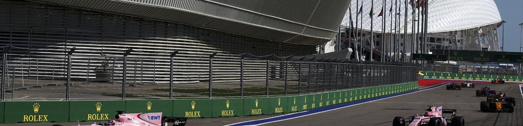 Circuito de Sochi, 2017, Foto: Force India