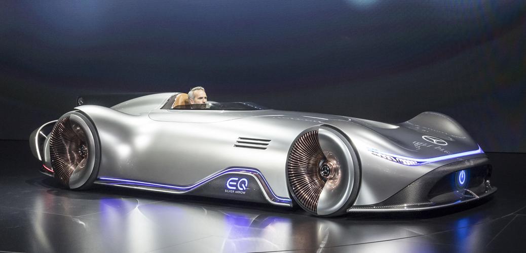 Mercedes-Benz Vision EQ Silver Arrow, 2018