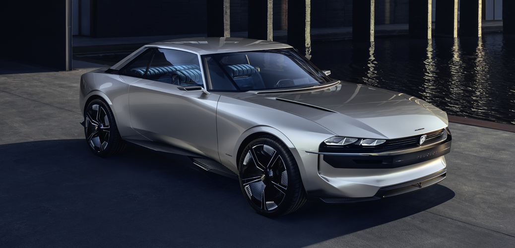 Peugeot E-Legend Concept 2018, © Automobiles Peugeot