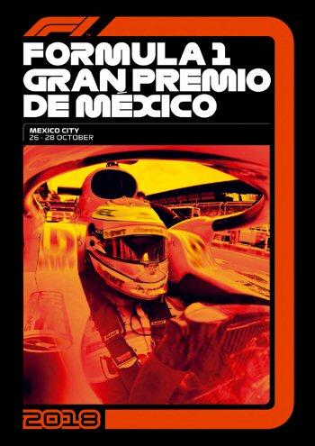 Póster Gran Premio de México 2018