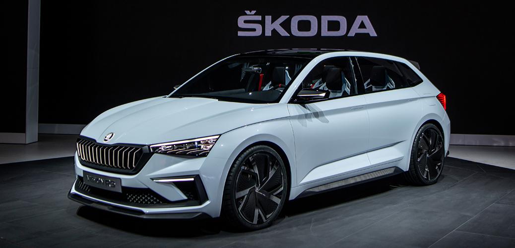 Skoda Vision RS 2018, Foto Skoda