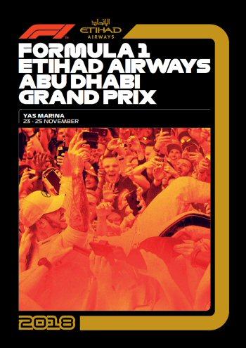 Póster Gran Premio de Abu Dhabi 2018