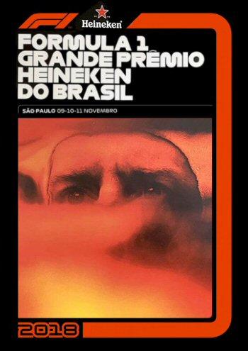 Póster Gran Premio de Brasil 2018