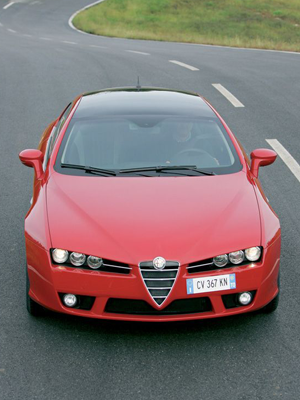 Vista frontal superior, Foto: Alfa