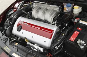 Motor Alfa Romeo Brera. Foto: Alfa Romeo