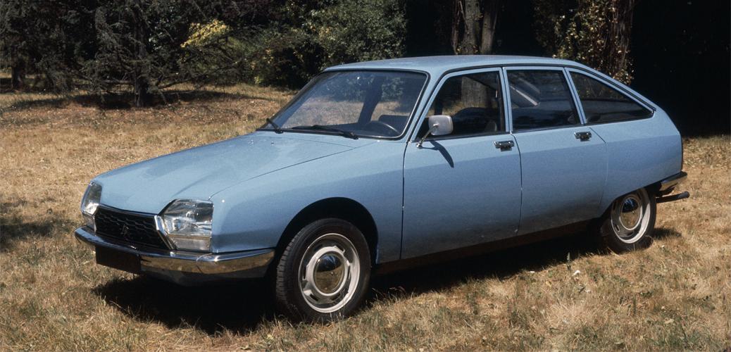 Vista lateral delantera, Citroën GS Special, 1977, © Citroën Communication / DR