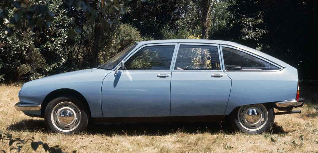 Vista lateral, Citroën GS Special, 1977, © Citroën Communication / DR