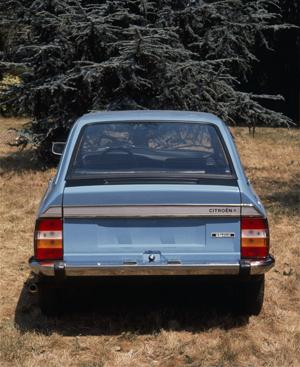 Vista trasera, Citroën GS Special, 1977, © Citroën Communication / DR