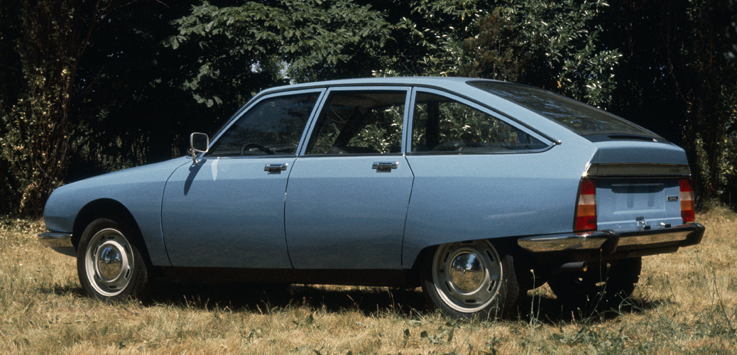Vista lateral trasera 2, Citroën GS Special, 1977, © Citroën Communication / DR