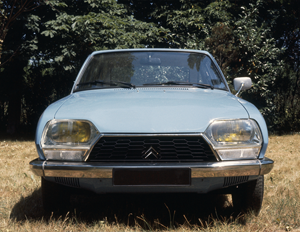 Vista frontal Special, 1977, ©Citroën Communication / DR