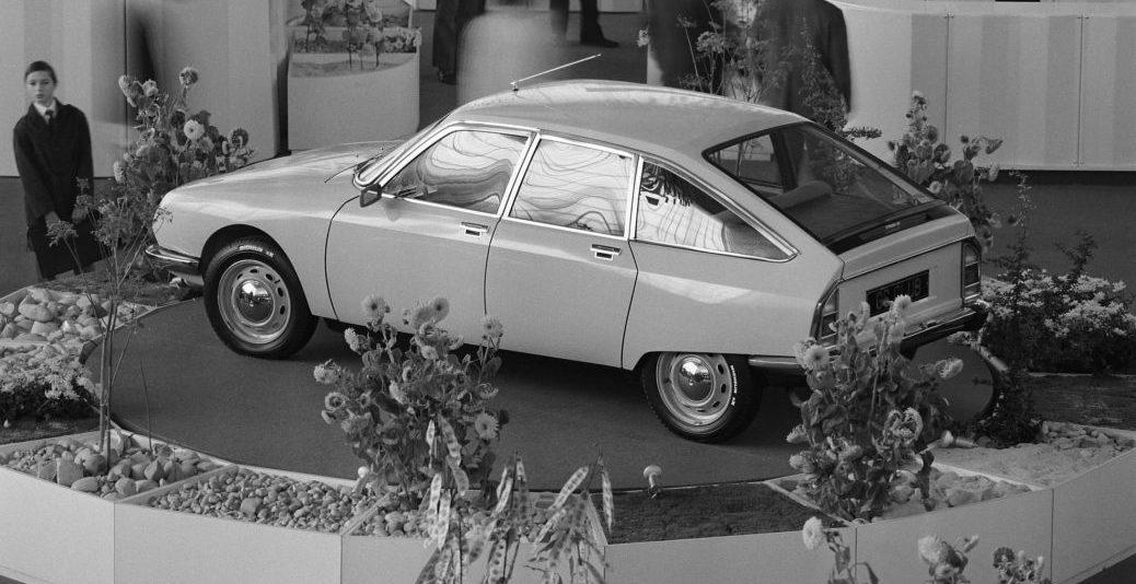 Presentación en el Salón del Automóvil de París de 1970, Foto: Citroën