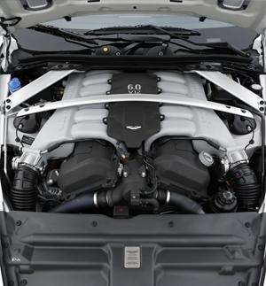 Motor V12 del Aston Martin DB9, Foto: Aston Martin