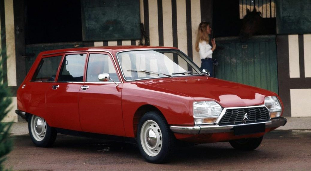 1015 Break Comfort, 1971. Foto: Citroën