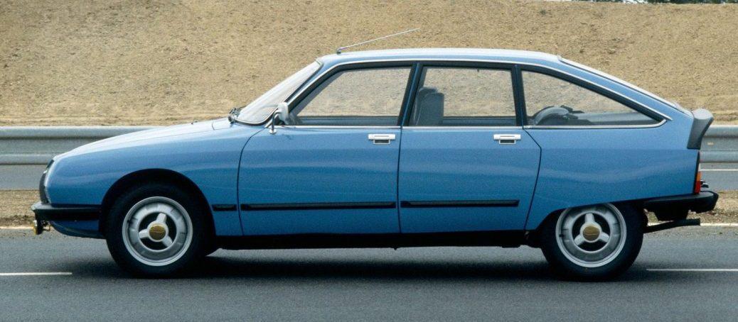 X3, 1979. Foto: Citroën