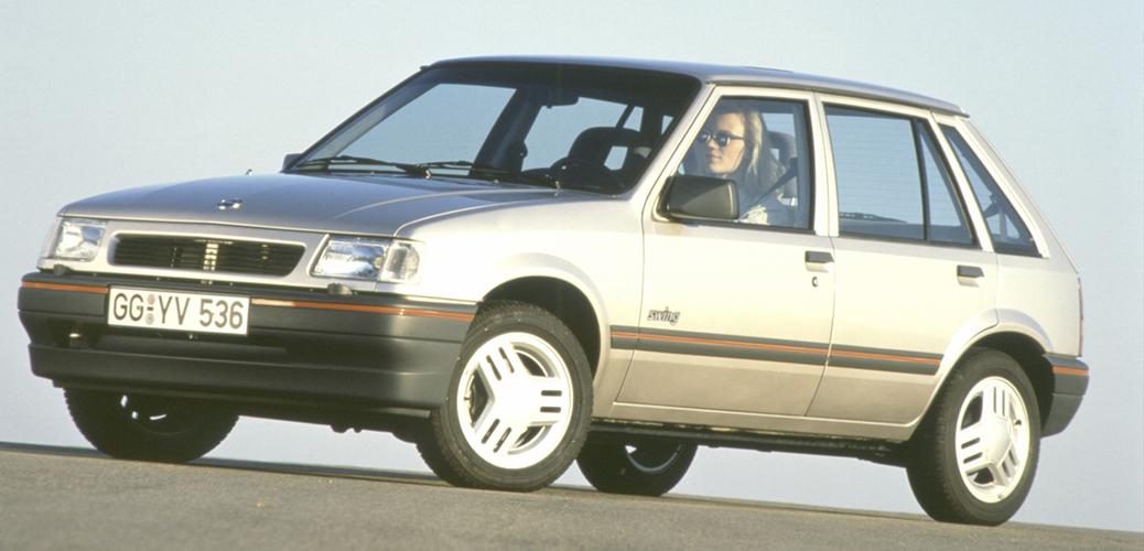 Opel Corsa A Swing, 1988-1992. Foto: Opel Automobile GmbH