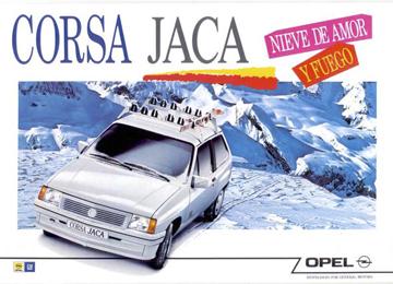 Anuncio Opel Corsa Jaca