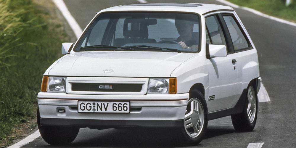 Opel Corsa A GSi, 1988, Foto: Opel