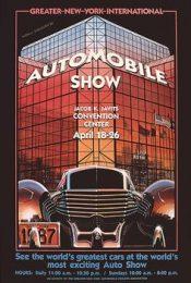 Póster Salón del Automóvil de Nueva York