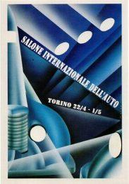 Póster 65° Salone Internazionale DellAuto Torino 1994