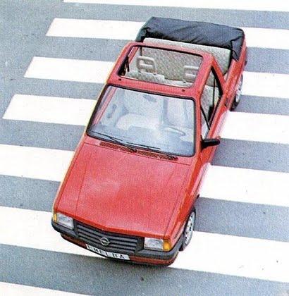 Opel Corsa Descapotable de Emelba, Foto: Emelba