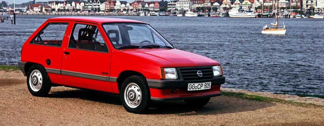 Opel Corsa A Luxus 1982. Foto: Opel Automobile GmbH