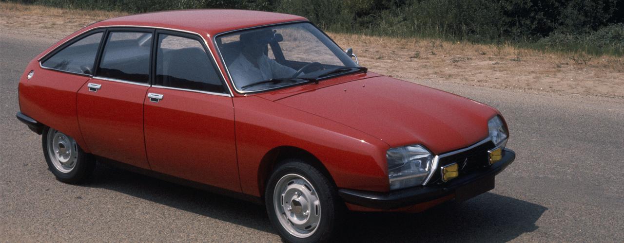 Vista tres cuartos delantera, Citroën GS X2, 1977, © Citroën Communication / DR