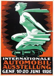 Póster  Internationale Automobil-Ausstellung de 1926 (IAA 1926)