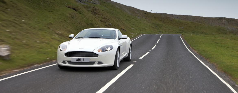 Aston Martin DB9, rodando, Foto: Aston Martin