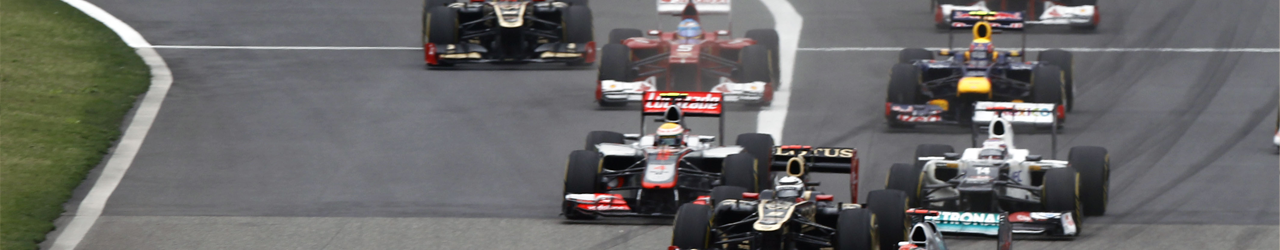 Monoplazas de Fórmula 1. Salida del Gran Premio de China de 2012, Foto: Mercedes GP