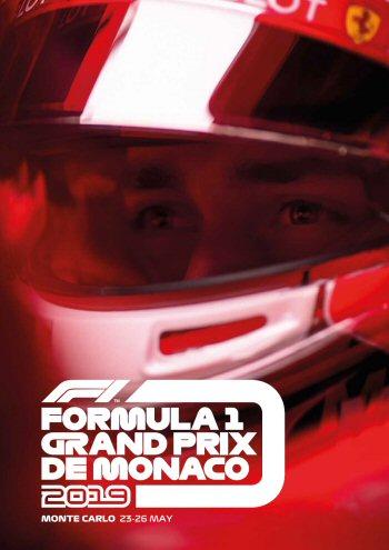 Póster Gran Premio de Mónaco 2019
