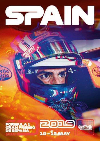 Póster Gran Premio de España 2019