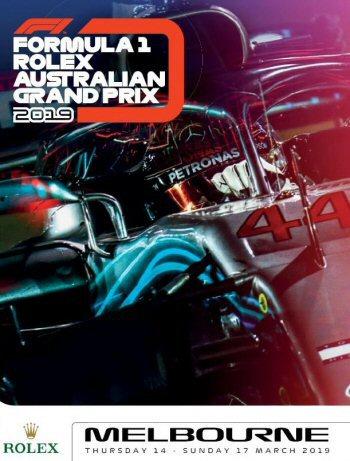 Póster Gran Premio de Australia 2019