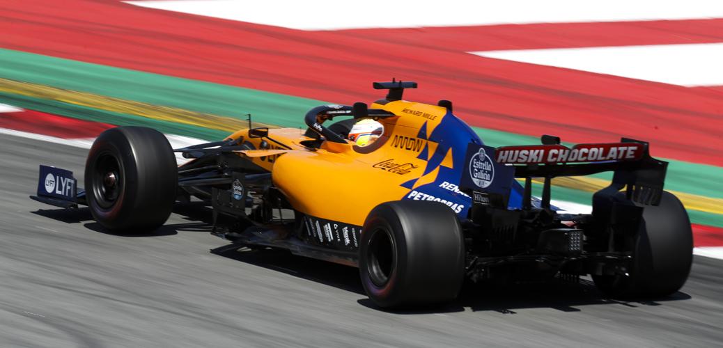 Oliver Turvey, probador, en los test de mayo de 2019 en Barcelona, McLaren MCL34, Foto: McLaren Racing